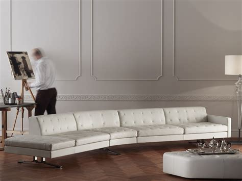 Buy The Poltrona Frau Kennedee Curved Sofa At Nest.co.uk