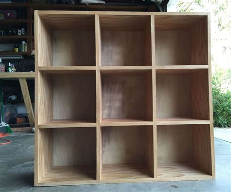 bookcase storage cubby unit woodworking projects cubby
