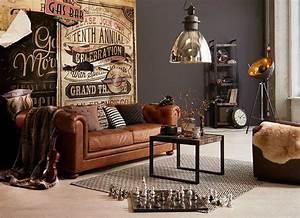 Möbel Industrial Style : einrichten im used look industrial living industrial style mit coolen lampen rustikalen ~ Markanthonyermac.com Haus und Dekorationen