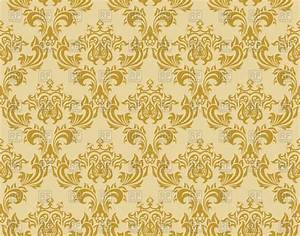 Gold Damask Patterns