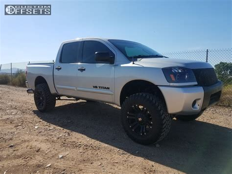 nissan titan xd lifted 2008 nissan titan xd monster rough country suspension lift 6in