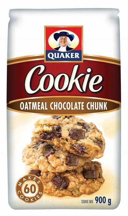 Quaker Oatmeal Cookie Cookies Chocolate Mix Chunk