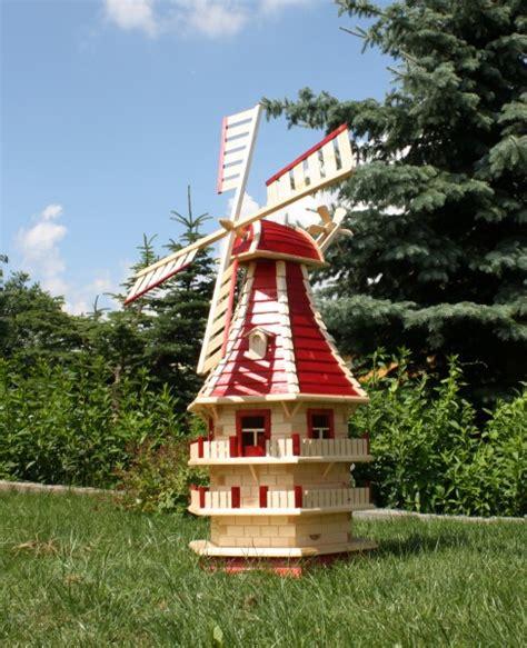 Solar Led Len Für Garten by Windm 252 Hle Mit Led Beleuchtung Holzdekoladen De
