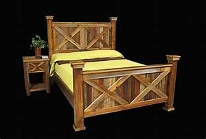 Bed, Frame, U0026, Nightstand