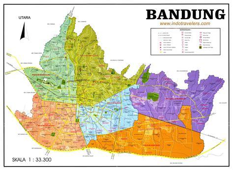 large bandung maps     print high