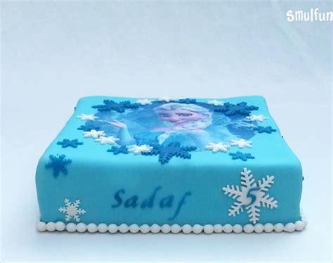 elsa taart eetbare print de leukste taarten cupcakes en traktaties vind  bij smulfunnl
