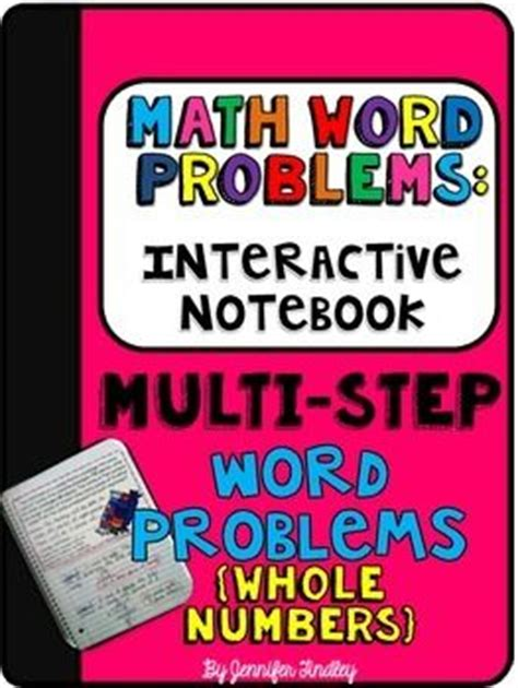 Free Interactive Math Problems Multistep Word Problems With Whole Numbers  5th Grade