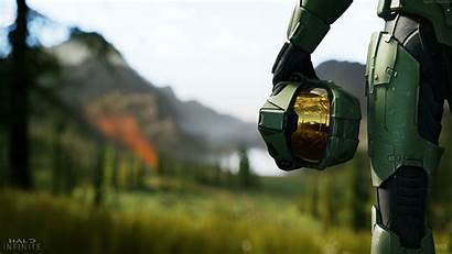 Halo Infinite Background Resolution 4k Wallpapers Games