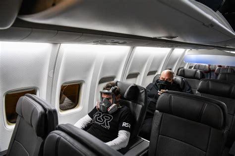 airline body  face masks   worn  flights
