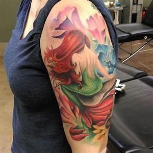 Mermaid Tattoos | InkDoneRight.com