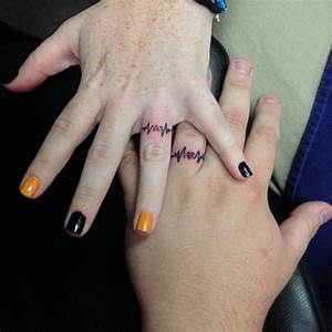 40 sweet meaningful wedding ring tattoos With wedding ring tatoos