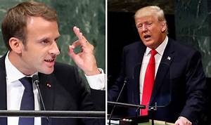 Macron defends EU open borders and takes aim at Trump with ...