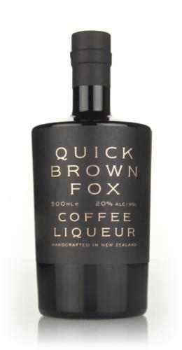 Brownfox waffle & coffee terletak di kawasan pasar minggu dengan alamat lengkap jl. Quick Brown Fox Coffee Liqueur - Master of Malt
