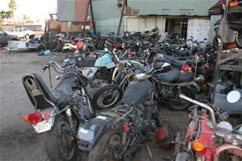 Parts Unlimited Motorcycle Salvage  Stanton, California