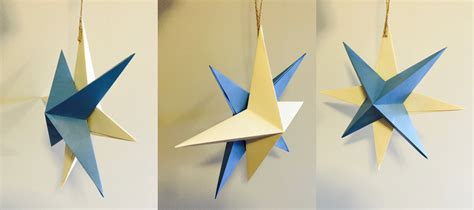how to make hanging l with paper how to make a hanging paper star 12 steps with pictures