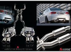 Akrapovic BMW E92 E93 M3 Exhaust Titanium muffler