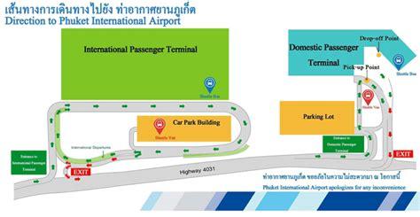 Phuket Airport Terminal Map – Phuket Airport Guide
