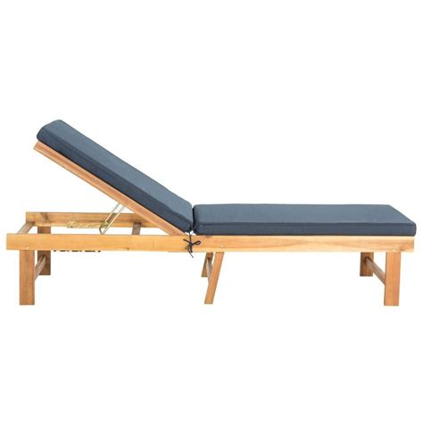 chaise navy safavieh inglewood teak brown navy 1 all weather