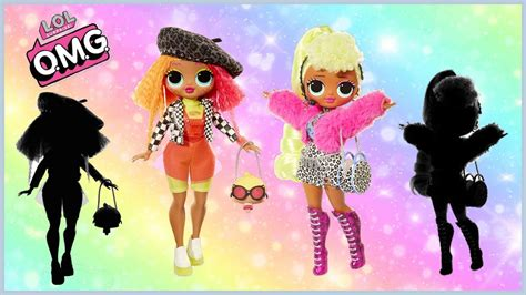 Omg Lol Fashion Dolls Unboxing Lady Diva And Neonlicious