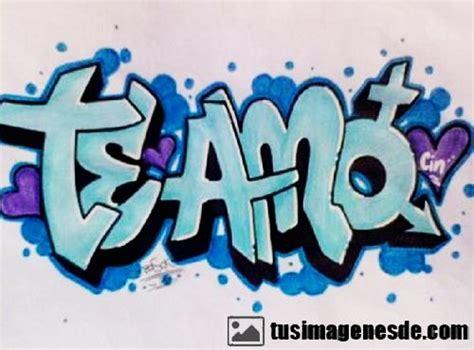 Graffiti De Te Quiero : Graffitis De Te Amo