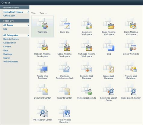 Sharepoint Workflow Templates by Sharepoint 2010 Site Templates