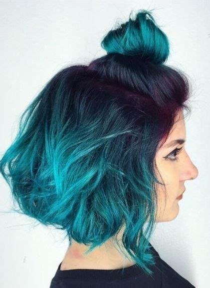25 Best Ideas About Blue Ombre Hair On Pinterest Blue