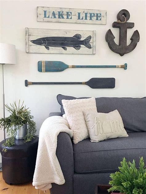 lake house decor   fish wall decor nautical art