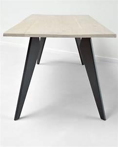 Pied De Table : proov fabricant de pieds de table et plateau en bois design ~ Teatrodelosmanantiales.com Idées de Décoration