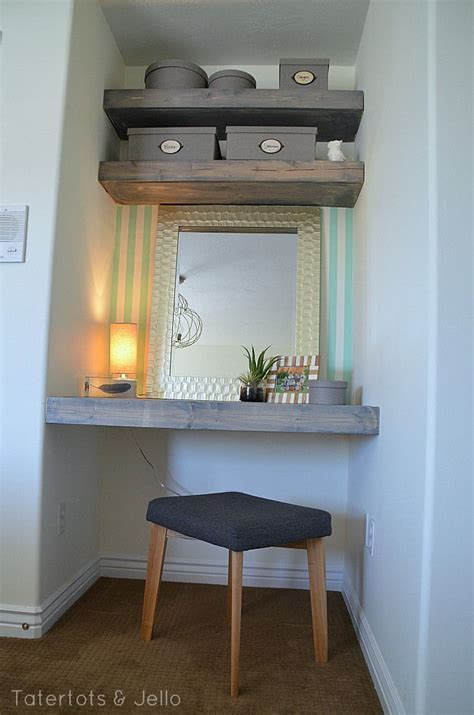 floating shelves nook workspace pictures