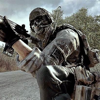 Duty Call Cod Warfare Gifs Ghost Mobile
