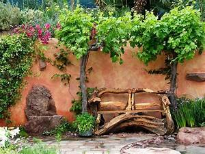 Fabriquer Un Banc De Jardin Original : voici nos exemples pour un banc de jardin ~ Melissatoandfro.com Idées de Décoration