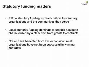 The State And The Voluntary Sector