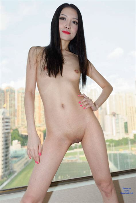 Red Lips Asian Standing Naked February Voyeur Web Hall Of Fame