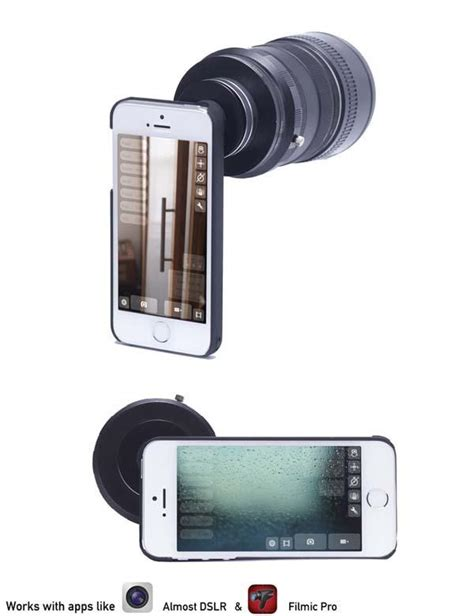 iphone lens adapter turn i kit lens adapter for iphone 5 5s gadgetsin