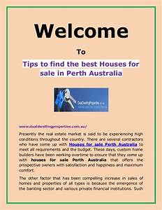 Tips to find the best houses for sale in perth australia