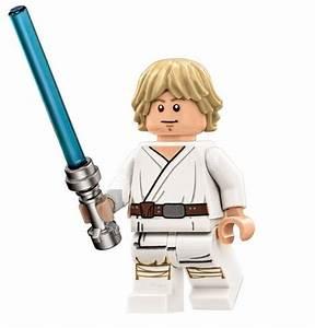 LEGO STAR WARS MINIFIGURE LUKE SKYWALKER WITH LIGHTSABER ...