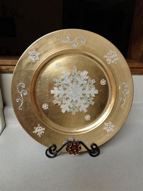 Decorative Chargers - 17 best images about charger plates diy on