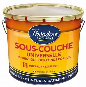 Sous Couche Peinture : peinture sous couche glycero resine de protection pour ~ Melissatoandfro.com Idées de Décoration