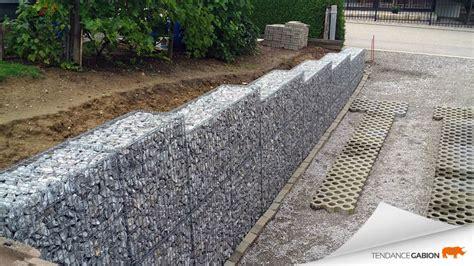 mur en gabion wikilia fr
