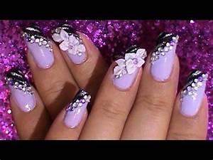 50+ Easy Flower Nail Art and Designs - Golfian.com