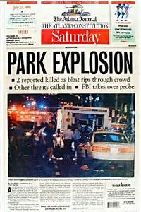 ajc 7 27 96 on the centennial park bombing that killed 2