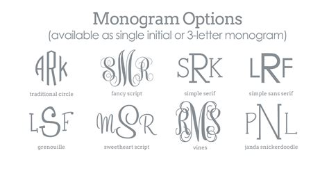 8 Best Images Of Printable Monogram