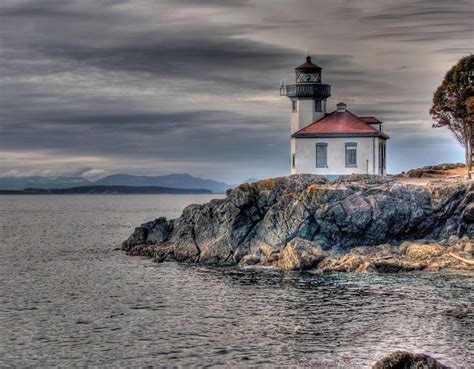 what state has the most lighthouses lime kiln lighthouse weburbanist image gallery
