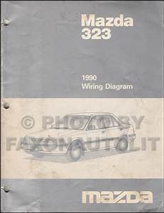 199mazda 323 Wiring Diagram Manual Original 2wd