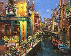 City Painting HD Desktop Wallpaper, Instagram photo ...