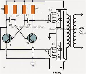 Mosfet Inverter Circuit Board