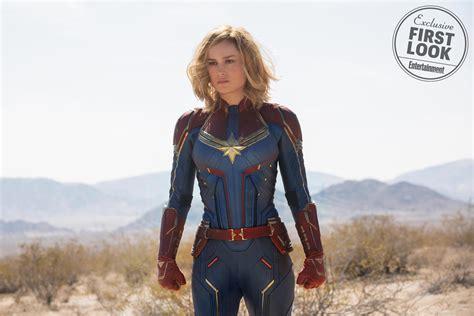 Captain Marvel See Brie Larson, Samuel L Jackson, Jude