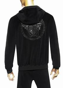 Cam U0026 39 Ron Wearing Versace Chenille Loopback Hoodie And Sporty Trousers