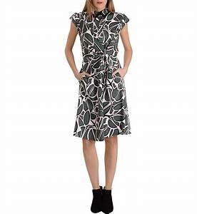 robe portefeuille mi longue en coton imprime floral tara With robe coton longue