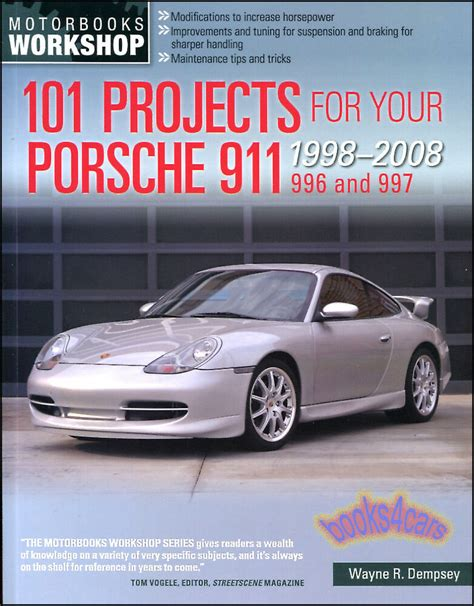 car repair manuals online pdf 2006 porsche 911 navigation system porsche 911 manual shop service repair 101 projects book 996 997 ebay